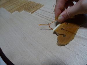 中国琵琶覆手
