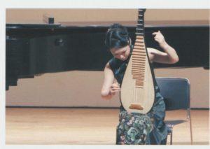 中国琵琶演奏方法