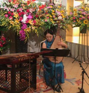 国慶節中国琵琶