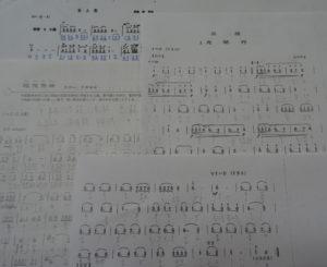 中国琵琶伴奏譜