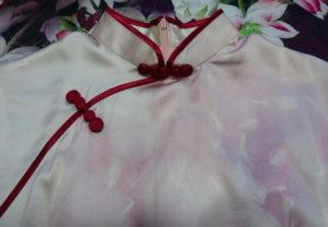横浜チャイナドレス襟