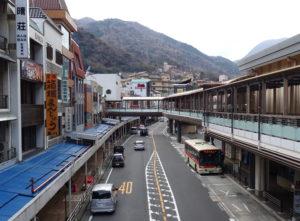 箱根から新宿行きロマンスカー