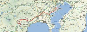 羽田空港から箱根までバスマップ